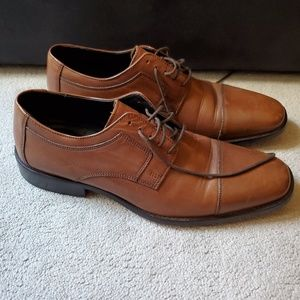J. Murphy Brown Cap Toe Lace Up Shoes